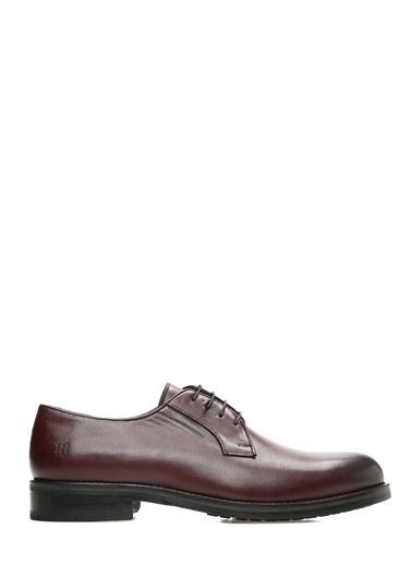 George Hogg Deri Ayakkabı Bordo